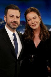 Connie Nielsen - Jimmy Kimmel Live: May 24th 2017