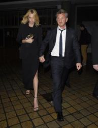 Sean Penn - Charlize Theron and Sean Penn - seen leaving Royal Festival Hall. London - February 16, 2015 (153xHQ) K1r0WqOH