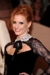 "Jessica Chastain - Alexander McQueen ""Savage Beauty"" Costume Institute Gala 5/2/11"