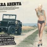 Gatas QB - Dominika Kissova Frontal Mag (Revista Frontal) Setembro 2013