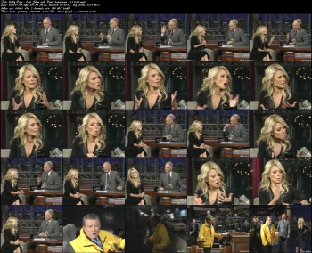 Kelly Ripa - Late Show with David Letterman - 11-9-05