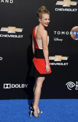 Britt Robertson - Tomorrowland premiere in Anaheim 05/09/15