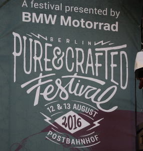 BMW Motorrad Pure & Crafted Festival