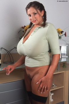 Big breasts - beautiful reference model tits (HQ)- pics - Page 28