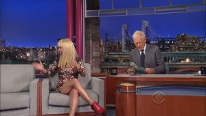 Hayden Panettiere David Letterman Show 08/28/13