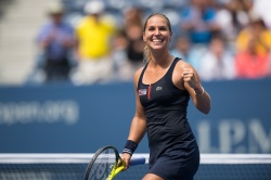 Dominika Cibulkova - 2015 US Open Day One: 1st Round vs. Ana Ivanovic @ BJK National Tennis Center in Flushing Meadows - 08/31/15