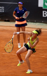 Martina Hingis the women's double of the WTA tournament in Rome May 14-17-2015 x9