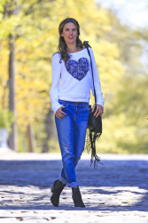 Alessandra Ambrosio - at a Victoria's Secret photoshoot in NYC 4/30/13