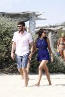 Nina Dobrev with her boyfriend Austin Stowell in Saint-Tropez (July 24) WufeERVb