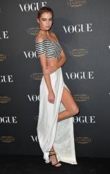 Stella Maxwell - Paris Fashion Week Spring/Summer 2016: Vogue 95th Anniversary Party Photocall @ 51 Avenue d'Iena in Paris - 10/03/15
