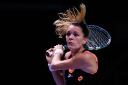 Agnieszka Radwanska - TEB BNP Paribas WTA Championships Day 3 in Istanbul 10/24/13