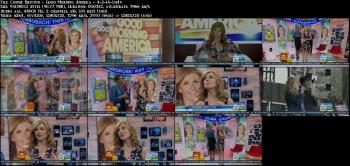 Connie Britton - Good Morning America - 4-2-14