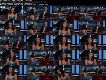 Jessica Pare - Jimmy Kimmel Live - 4-7-14