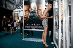 Hailey Baldwin - 'After Earth' premiere in NYC 5/29/13