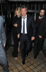 Sean Penn - Charlize Theron and Sean Penn - seen leaving Royal Festival Hall. London - February 16, 2015 (153xHQ) Ms8hxL7e