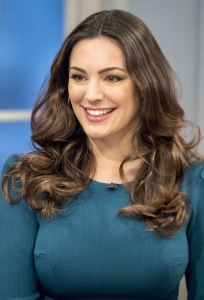 Kelly Brook - Lorraine TV Show in London - January 29th 2017