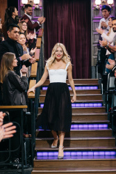 Sienna Miller - The Late Late Show with James Corden: January 9th 2017