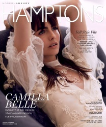 Camilla Belle -          Hamptons Magazine September 2017.