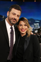 America Ferrera - Jimmy Kimmel Live: March 22nd 2017