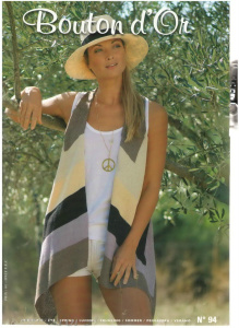 image hostВязаные женские модели-журнал Bouton