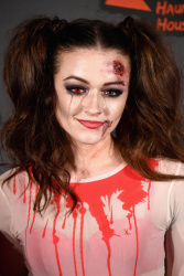 Emily Middlemas - Kiss FM Haunted House Party 2016 @ the SSE Arena in Wembley - 10/27/16
