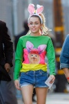Miley Cyrus Seen at the Jimmy Kimmel Live show in Los Angeles August 26-2015 x819