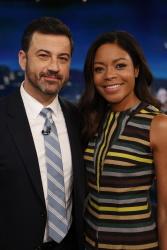 Naomie Harris - Jimmy Kimmel Live: January 10th 2017