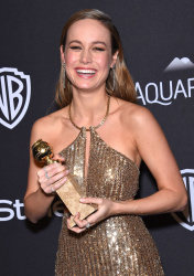 Brie Larson - 2016 InStyle & Warner Bros. 73rd Annual Golden Globe Awards Post-Party @ the Beverly Hilton Hotel in Beverly Hills - 01/10/16