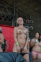 Low-Hanging Fake Boobs