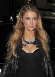 Paris Hilton - out in London 15-12-2014