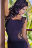 Дениз Милани, фото 5729. Denise Milani Black Dress 2012 :, foto 5729