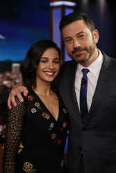 Naomi Scott - Jimmy Kimmel Live: March 21st 2017