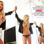 Gatas QB - Cora Schumacher Playboy Alemanha Junho 2015
