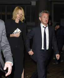 Sean Penn - Charlize Theron and Sean Penn - seen leaving Royal Festival Hall. London - February 16, 2015 (153xHQ) ZJgEx0n6