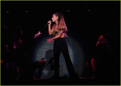 Ariana Grande - T-Mobile Arena Celebration Opening - April 7 2016