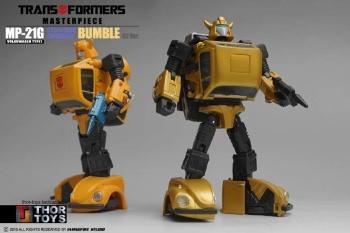 [Masterpiece] MP-21G Bumblebee/Bourdon G2 + MP-21R Bumblebee/Bourdon Rouge Kwimi5GR