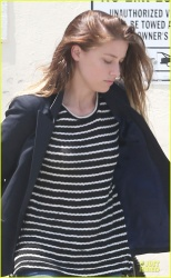 Amber Heard - out in LA 4/30/13