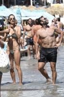 Alessandra Ambrosio - Bikini at the beach in Mykonos 7/5/17