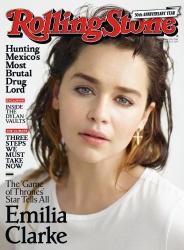 Emilia Clarke - Rolling Stone - July 13th 2017