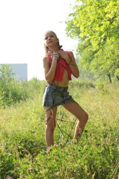 Silver-Jewels Violette Denim Skirt 2 download