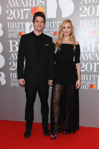 Fearne Cotton - The Brit Awards, Arrivals, O2 Arena, London - February 22nd 2017
