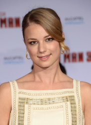Emily VanCamp - 'Iron Man 3' premiere in Hollywood 4/24/13