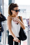 Kate Beckinsale - arriving at Heathrow airport in London 7/4/17