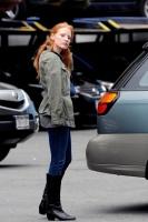 Джессика Честейн, фото 2265. Jessica Chastain On the set of 'The Disappearance of Eleanor Rigby' in New York City - July 13, 2012, foto 2265