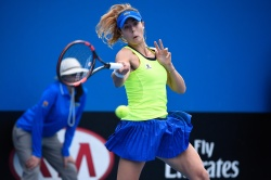 Alize Cornet - 2016 Australian Open Women's Singles First Round @ Melbourne Park in Melbourne - 01/19/16