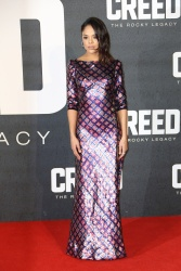 Tessa Thompson - Creed European Premiere @ Empire Leicester Square in London - 01/12/16