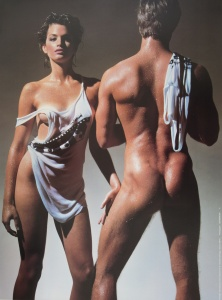 Cindy Crawford Sexy Photoshoot By Victor Skrebneski in 1985