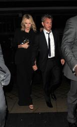 Sean Penn - Charlize Theron and Sean Penn - seen leaving Royal Festival Hall. London - February 16, 2015 (153xHQ) Os5Emyc9