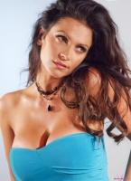 Дениз Милани, фото 5508. Denise Milani Blue Dress 2012 :, foto 5508