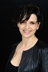 Juliette Binoche - Paris Fashion Week: Giorgio Armani Prive Haute Couture S/S 2016 Fashion Show in Paris - 01/26/16